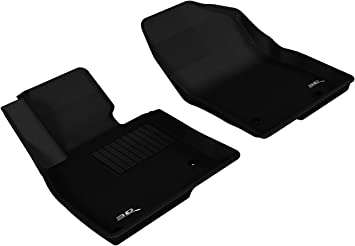 Kagu Rubber 3D MAXpider Cargo Custom Fit All-Weather Floor Mat for Select Mazda CX-9 Models Black