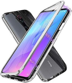 Funda Xiaomi Mi 9T, Absorción Magnética Carcasa[Marco de Metal ...