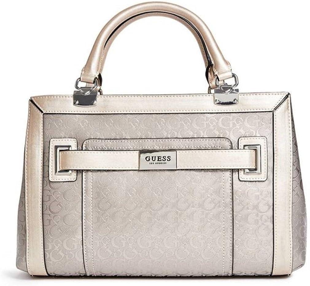 formatera pris Geometri  Amazon.com: Guess Logo Satchel Bag Handbag: Shoes