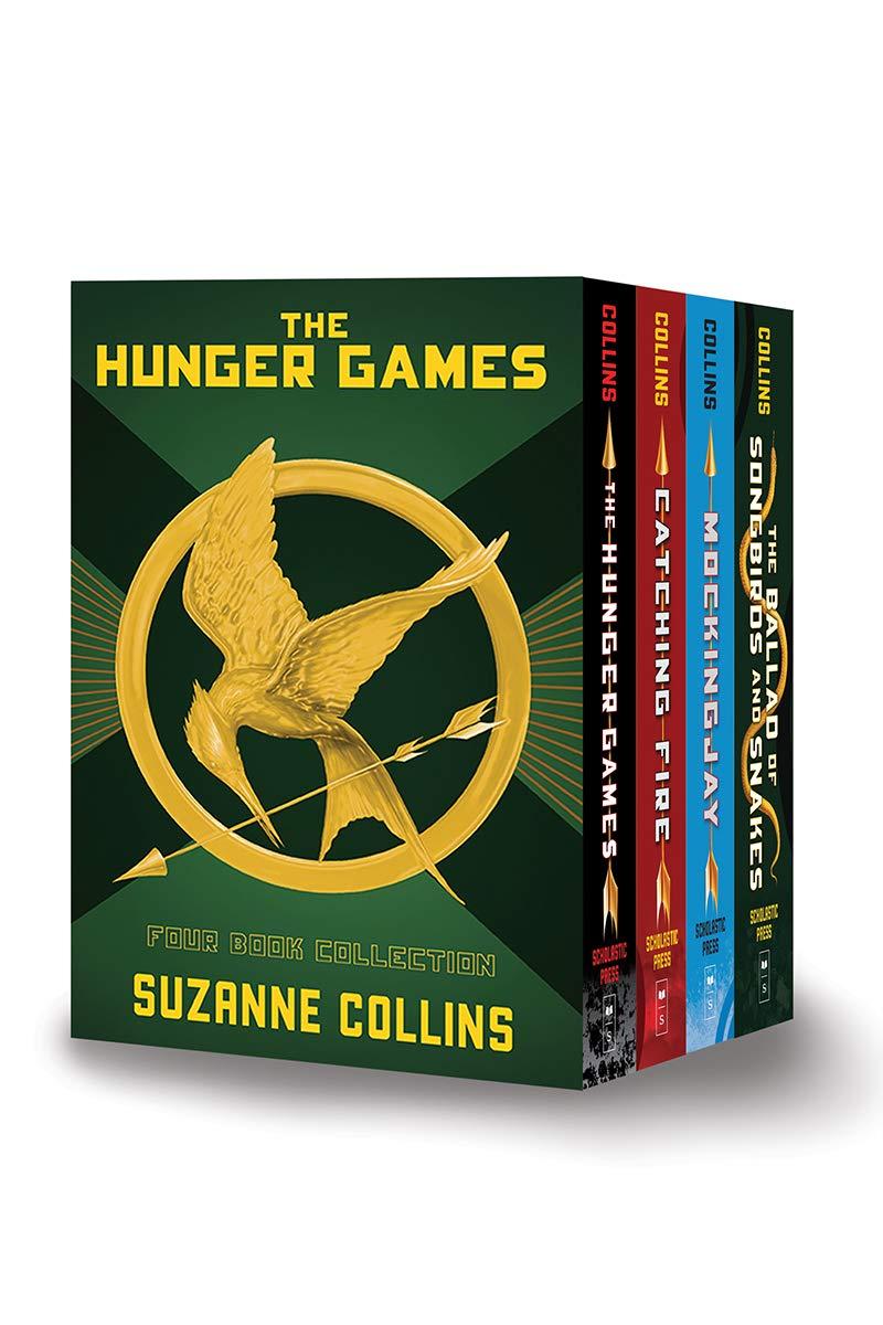 The Hunger Games 4-Book Hardback Box-Set The Hunger Games ...