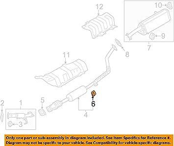 Kia 28768-B8300 Exhaust System Hanger