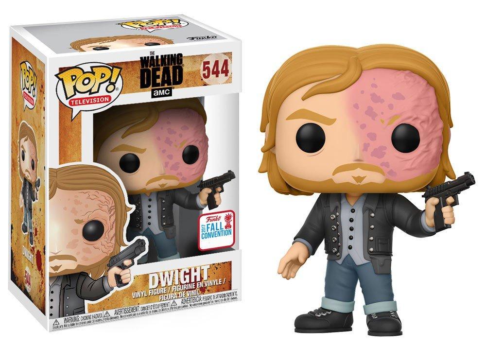 Funko - Figurine Walking Dead -Dwight Burnt Face Exclu Pop 10cm - 0889698151740