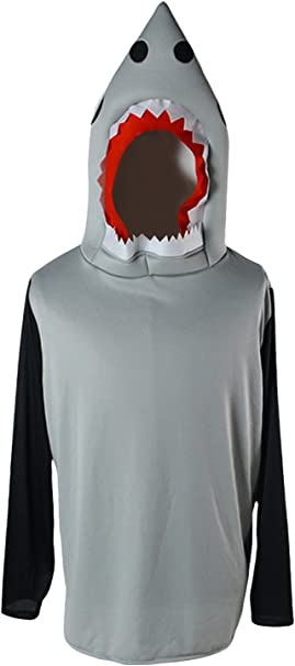 Disfraz de Cosplay de Tiburon Adulto de Halloween Disfraz de ...