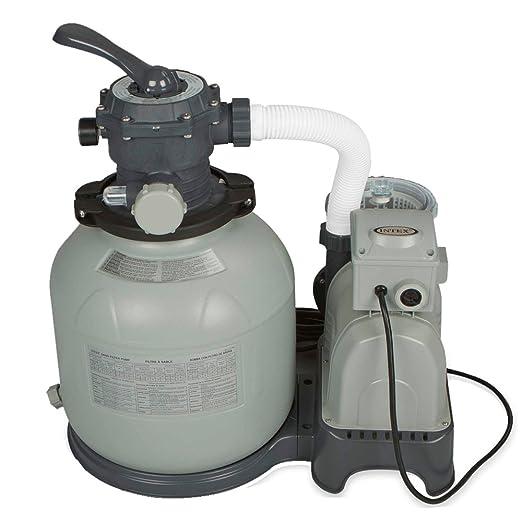 94 opinioni per Intex- Pompa di filtraggio a sabbia per piscine fuoriterra e interrate, 8,000l/h