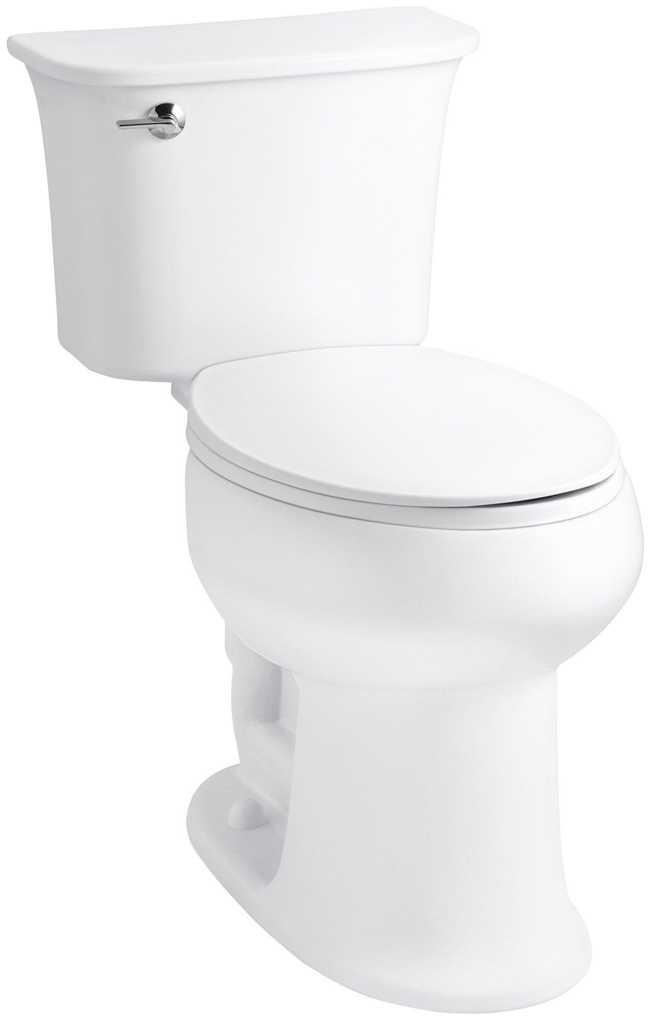Sterling 402077-0 Stinson ADA Luxury Height Elongated Toilet, White