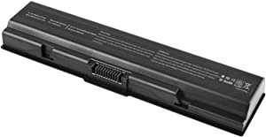 Battery for Toshiba PA3534U-1BRS PA3533U-1BRS PA3535U-1BAS PA3727U-1BRS TS-A200 Laptop Notebook Computer PC for Satellite A200 A300 A500 L200 L300 L400 L500 M200 Equium A200 A300D-13X- 6 Cell
