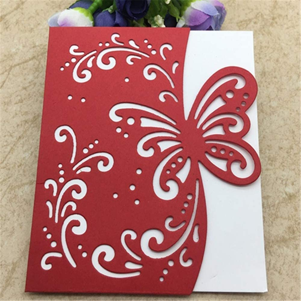 Butterfly Cutting Die Metal Stencil DIY Scrapbooking Embossing Paper Card Craft