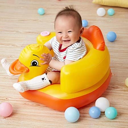 Silla inflable multifuncional para niños,Taburete de baño portátil para bebé,asiento de seguridad inflable para niños,Silla de Aprendizaje BB Silla de Comedor