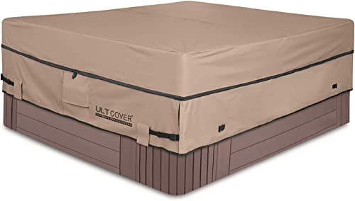 ULTCOVER-Waterproof-600D-Polyester-Square-Hot-Tub-Cover-Outdoor-SPA-Covers