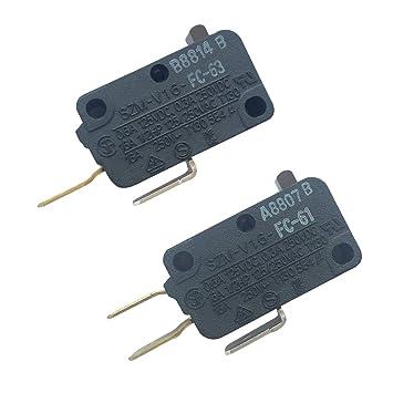 Lonye 28QBP0495 & 28QBP0497 Interruptor de puerta de horno ...