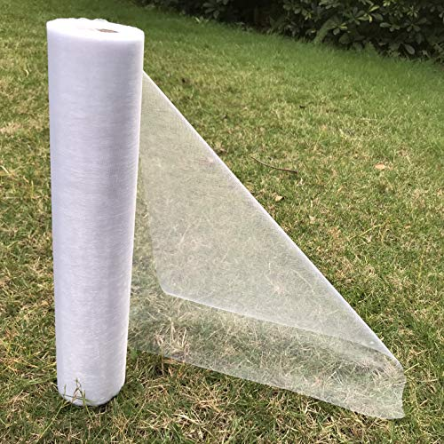 ATCG 11 inch x 28 Yard Organza Roll Fabric Wrap Ribbons Table Runner Chair Sashes Bow for Wedding Decoration (White)