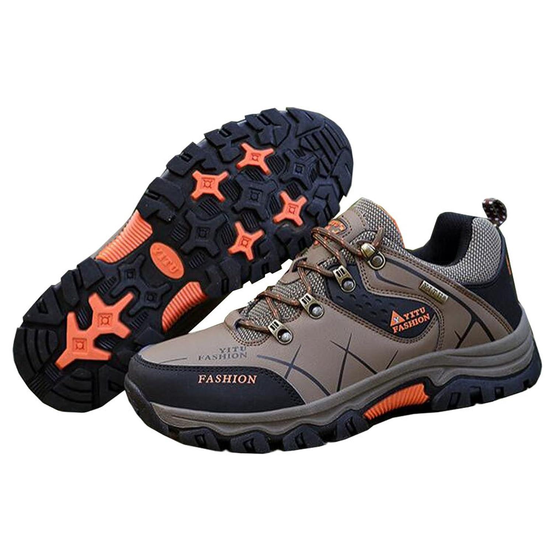 Haodasi Herren Wanderschuhe High Top Trekking Schuhe Rutschfeste Outdoor  Warm Waterproof Walking Klettern Sneakers: Amazon.de: Schuhe & Handtaschen