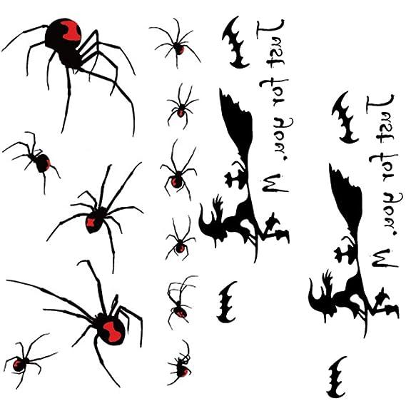 WANZIJING Pegatinas de Maquillaje, Insecto Escorpión Escarabajo ...