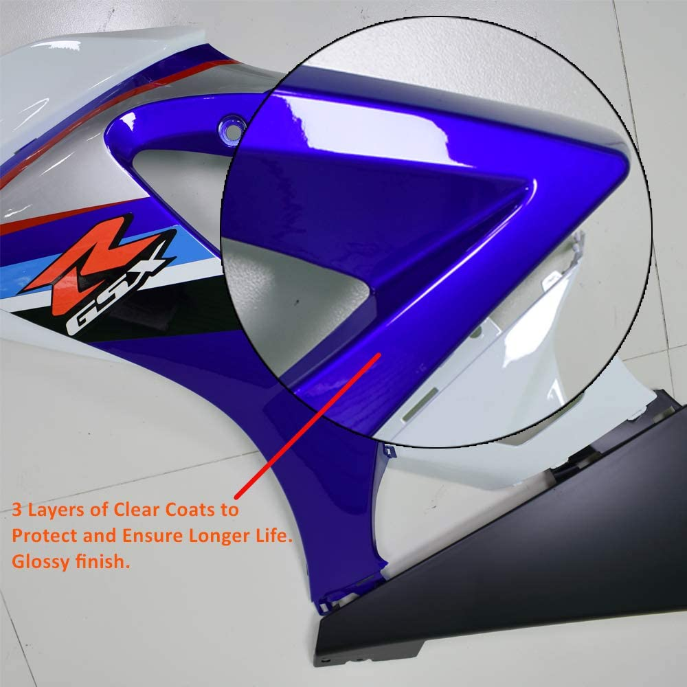NT FAIRING Glossy Blue Injection Mold Fairing Fit for Yamaha 2006 2007 YZF R6 New Painted Kit ABS Plastic Motorcycle Bodywork Aftermarket