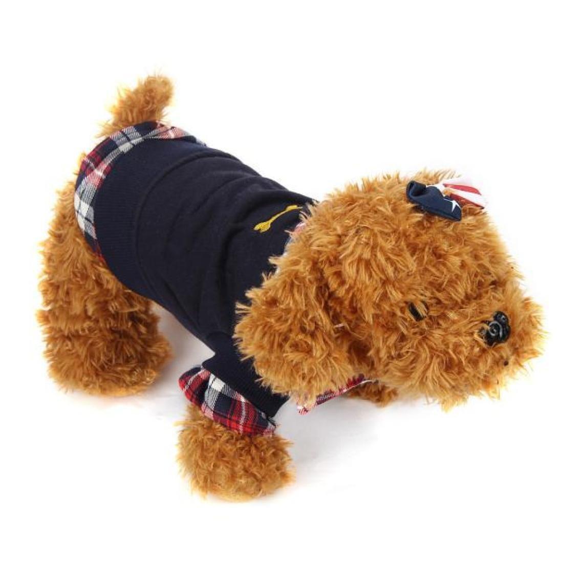 Ropa de Mascotas Amlaiworld Sudaderas Su/éter Camisas de Mascotas Gatos Perros 2018 Abrigo Punto Ropa Chaleco Chaqueta para Mascotas