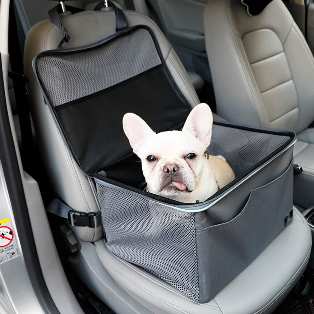 Lh Pet Car Front Seat Cover Single-seat Car Pet Nest Waterproof Travel Cover Predector Cars Trucks SUV
