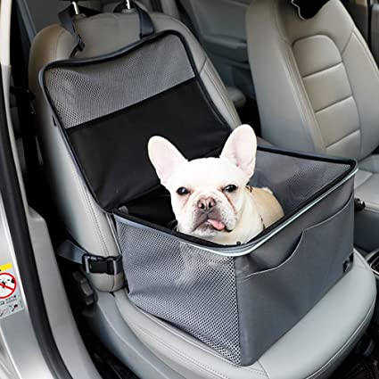 Pet Car Front Seat Cover Single Nest Waterproof Travel Protector Cars