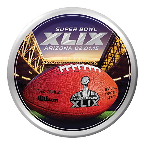 Creative Converting Arizona 8 Count Super Bowl 2015 Paper Dinner Plates, (Duke Dinner)