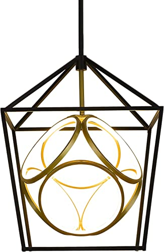 Emliviar Industrial Chandelier Light Fixture