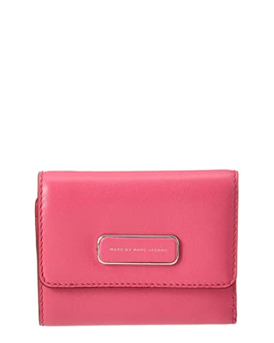 4390054a077 Amazon.com: Marc By Marc Jacobs Womens Ligero New Leather Wallet, Pink:  Shoes