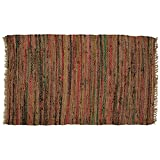 India Overseas Traders Sturbridge Country Rag Rug in Spice 30'' x 50''