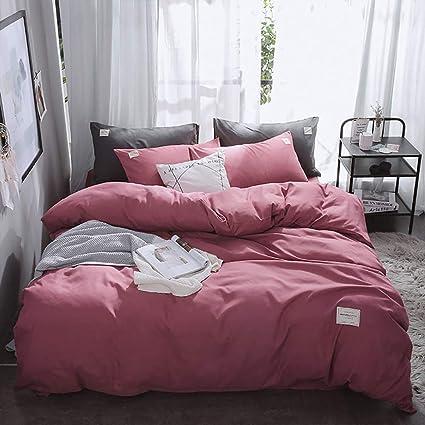 100/% Cotton Duvet Quilt Cover Bedding Sets 4 Piece Modern Floral Fitted Sheet UK