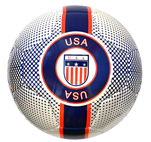 Vizari USA Trainer Soccer Ball 91853, White, 1