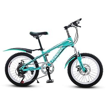 18 pulgadas Los niños de bicicleta plegable Bicicleta de montaña Hombre y mujer Los niños ciclismo