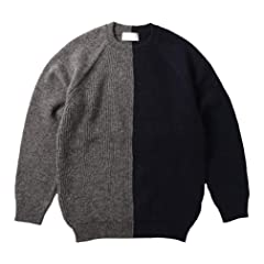Soglia Lerwick Sweater: Grey / Navy