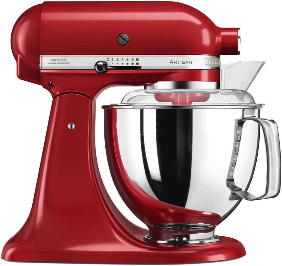 KitchenAid 4.8 Litre Artisan Stand Mixer 5KSM175PS (Empire Red)