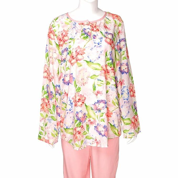 Románticos vestidos para otoño e invierno/ camisas de manga larga trajes de casa desgaste/Pijamas: Amazon.es: Ropa y accesorios