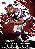 Adrian Peterson Football Card (Minnesota Peterson) 2007 Topps Walmart #3 Rookie
