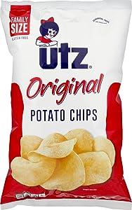 Utz Potato Chips, Family Size, 9.5 oz, (pack of 3)