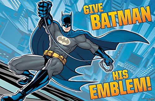 Amscan Awesome Batman Birthday Party Game, 37 1/2