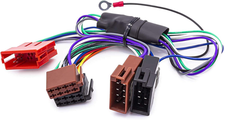 Adapter Kabel Auto Radio Aktiv System Iso Für Audi Vw Porsche Seat Bose Dsp Auto