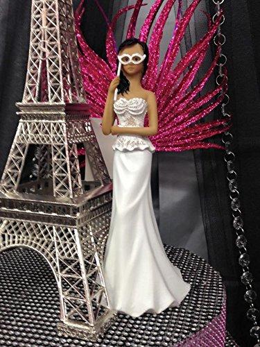 Masquerade Figure Ethnic Cake Topper 8