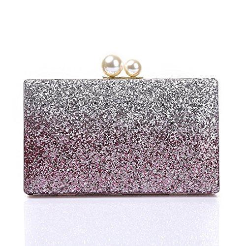 Wedding Bags Glitter Dance Party Clutch Evening for Women Purse Bride Handbag Prom Elegant Gold Evening Sparkling qPx8Y