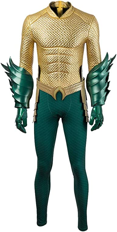 Coshow Aquaman Arthur Disfraz de Cosplay para Hombre, Disfraz de ...