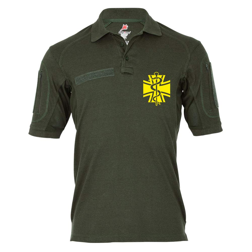 Copytec Tactical Poloshirt Alfa - Sanitäter Ek Schlange Rettungsdienst Sani  19299