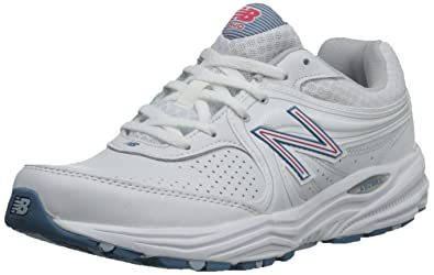 3fe419ccd03a5 Amazon.com | New Balance Women's WW840 Walking Shoe-W, White/Pink, 7 ...