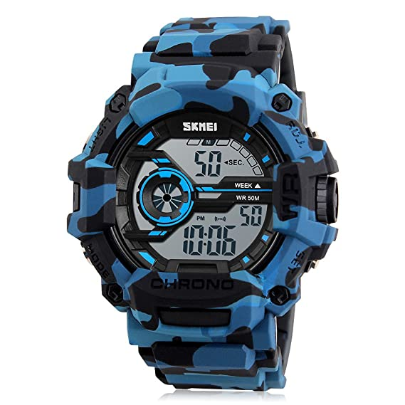e8ff44f901a8 Reloj Camuflaje Niño