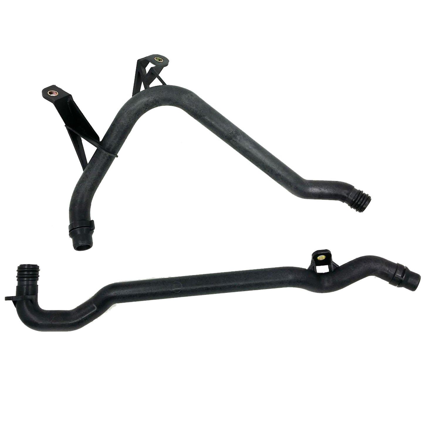 Podoy E46 Coolant Pipe & Heater Inlet Pipe for BMW E39 Z3 Z4 OEM 11531705210, 11537502525 10U0629