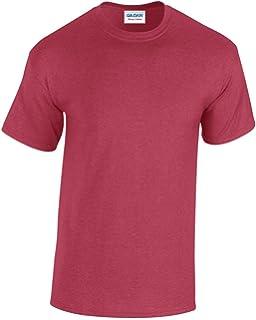 5988e1e3cf0d GILDAN Men's Heavy Cotton Short Sleeve T Shirt Antique: Amazon.co.uk ...