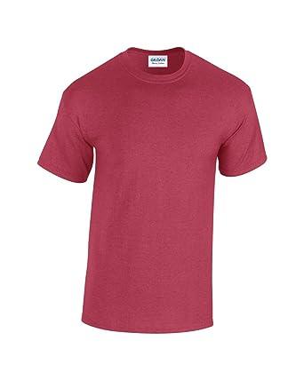c20249184d3be7 GILDAN Heavy Cotton T-Shirt: Amazon.co.uk: Clothing