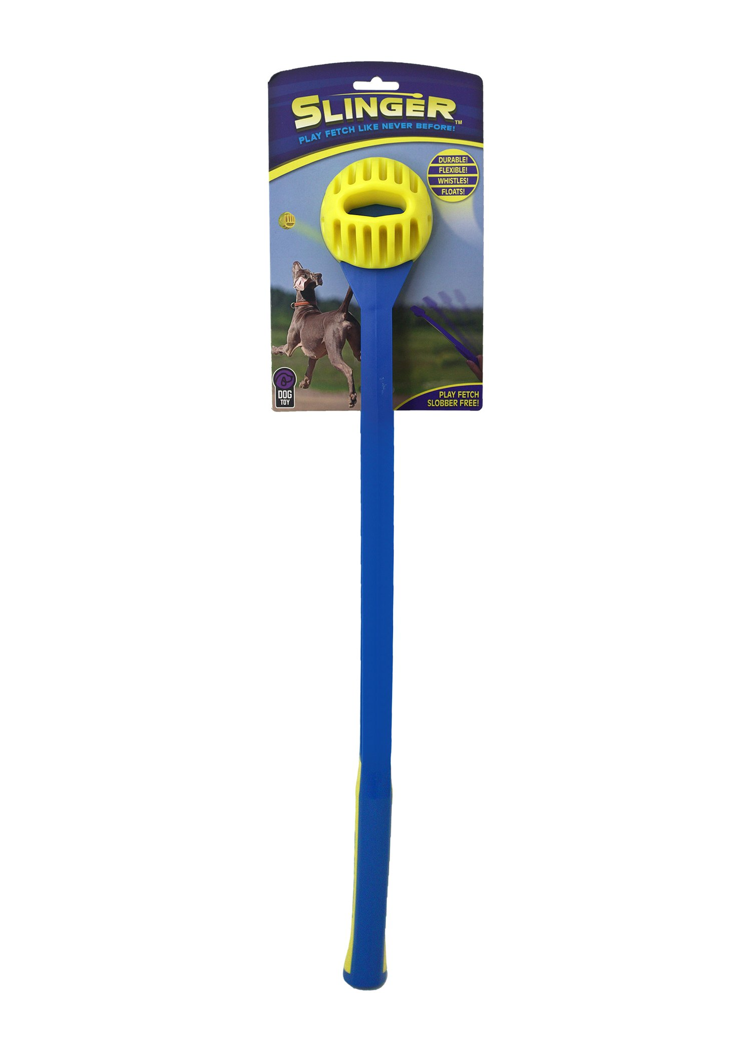 Multipet Slinger with 21.5'' Dog Toy Ball Launcher