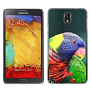 Plastic Shell Protective Case Cover || Samsung Galaxy Note 3 N9000 N9002 N9005 || Ornithology Purple Bird @XPTECH