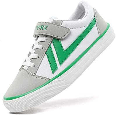 Kids High Top Canvas Casual Shoes Breathable Sneakers Running Athletic Walking