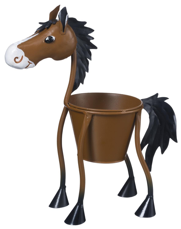 JT International Horse Motif Planter Small