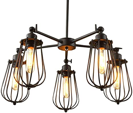 mid-century Vintage Home Lighting cafe and restaurant pendant light gothic,country /& farmhouse Ceiling Chandelier for 4 Lamps wood
