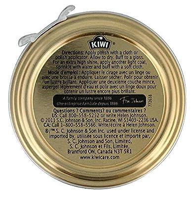 Kiwi Dark Shoe Polish 1 1/8 Oz